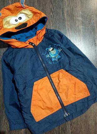 Курточка дождевик на мальчика 104