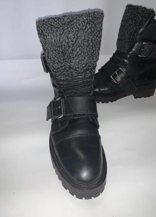 Зимние ботинки zara 39-40 р