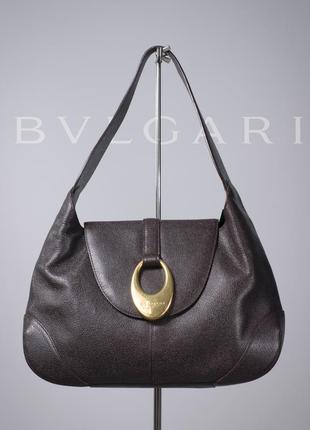 Женская сумка люкс класса bvlgari catherine brown handbag, италия оригинал