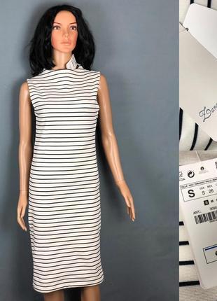 Zara платье карандаш в полоску