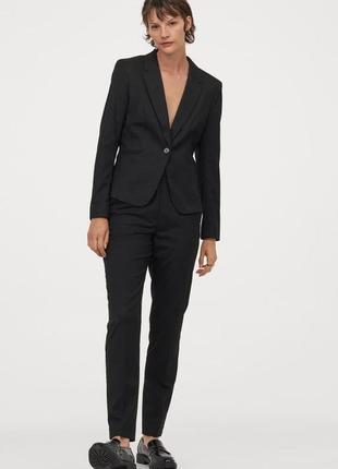Пиджак жакет блейзер h&m шикарная классика! размеры! качество! акция!