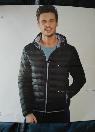 Куртка демисезонная мужская с капишоном livergy xl