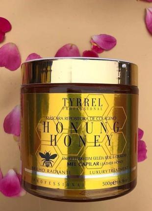 Коллагеновое восстановление мёд для волос honung honey tyrrel 500 мл