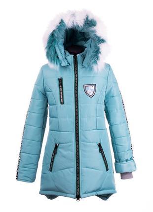 Скидка! последнее.зимнее пальто на девочку