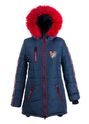 Р. 38-44 зимнее пальто на девочку