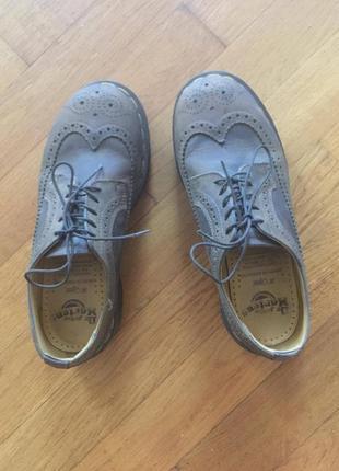 Dr martens made in england оригинал туфли броги ботинки р.39