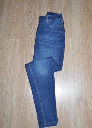 Стильные базовые синие джинсы скинни от tu