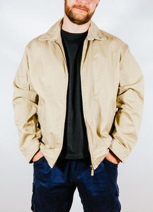 Мужская бежевая куртка демисезонная