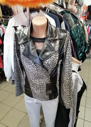 Куртка косуха пиджак без утеплителя