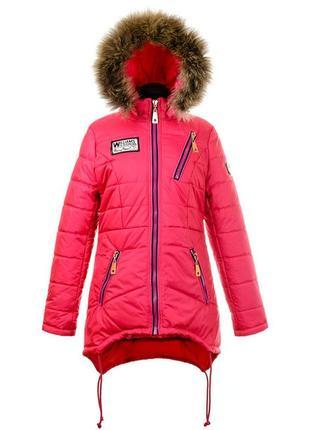 Скидка! последний 46 р. зимнее пальто на девочку