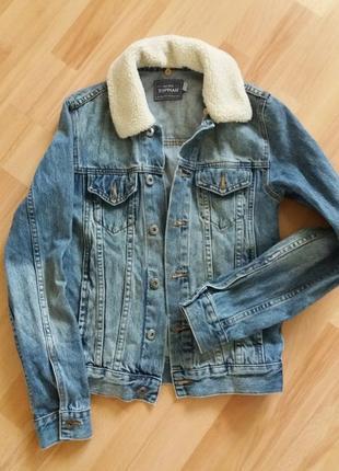 Куртка джинсовая новая без бирки. замеры по запросу.