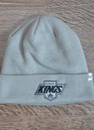 Оригинальная теплая шапка  новая коллекция  47 brand ® los angeles kings hats