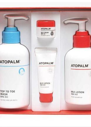 Подарочный набор atopalm mle skin essential care set