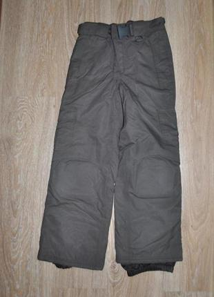 Зимние лыжные штаны, полукомбез