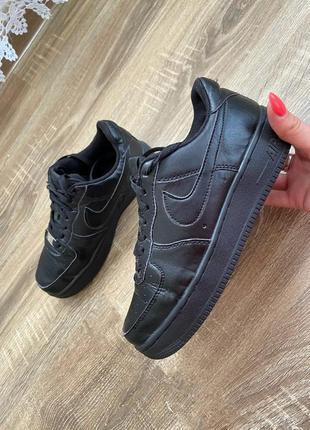 Оригинальные кроссовки nike air force 1 low 07 black