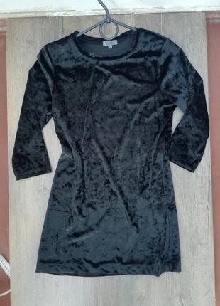 Liz devy чорне бархатне плаття