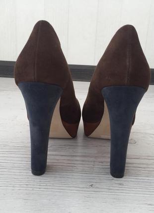 Туфли на устойчивом каблуке ronzo