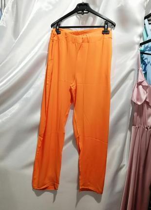 Летние брюки из натуральной ткани штапель