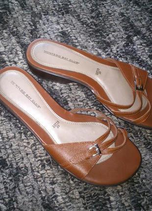 Босоножки сандали бразилия кожа. не секонд!