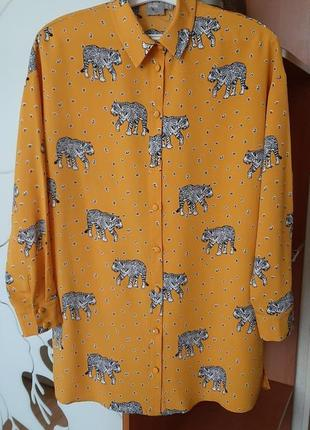 Блуза , рубашка  оверсайз