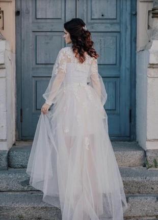 Весільна сукня, свадебное платье в стиле бохо