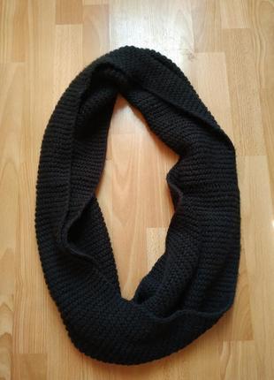 Хомут шарф вязаный
