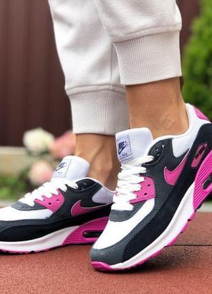 Крутые женские кроссовки nike air max 90.