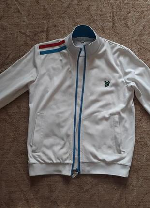 Олимпийка lyle scott оригинал. брендовая курточка