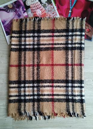 Большой мягкий шарф палантин