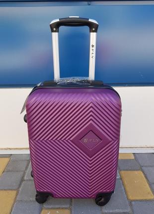 Отличный маленький чемодан фирмы fly dark purple