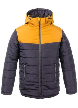 Р. 36-46 стильная зимняя куртка для мальчика