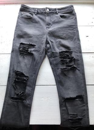 Классные рваные джинсы