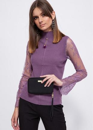 Свитер, цвет фиолетовый