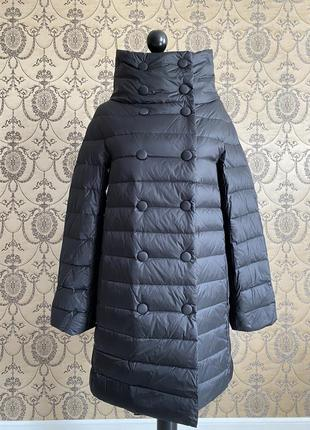 Пальто куртка пуховик trussardi