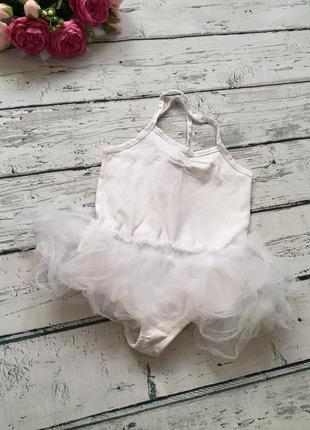 Белое боди юбка фатиме купальник для танцев kiki&koko
