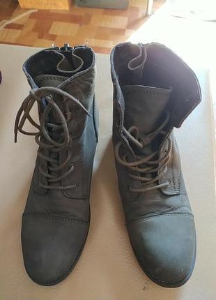 Poelman  ботинки р.38 стелька 25см