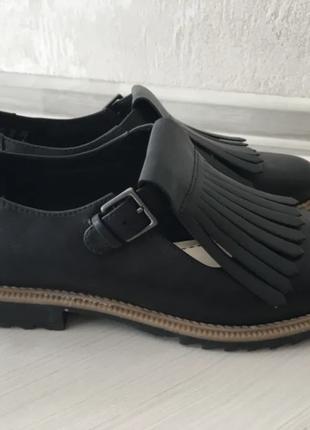 Clarks туфли женские кожаные