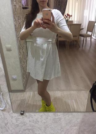 Olko платье белое