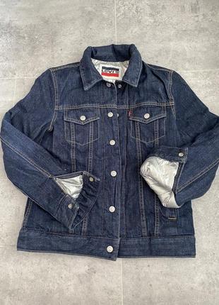 Зимняя куртка пуховик levi's оригинал