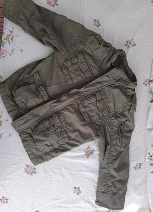 Куртка ветровка 98 см