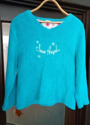 Бірюзовий свитер