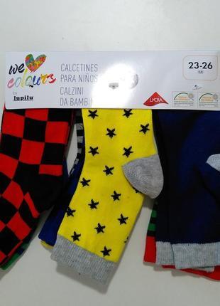 Детские носки lupilu 23-26 размер 7 пар