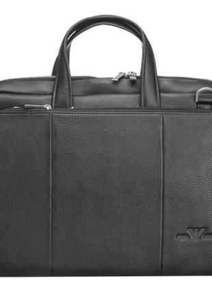 Мужская кожаная сумка портфель