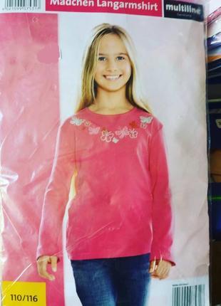 Реглан блузка 110-116см  хлопок  германия