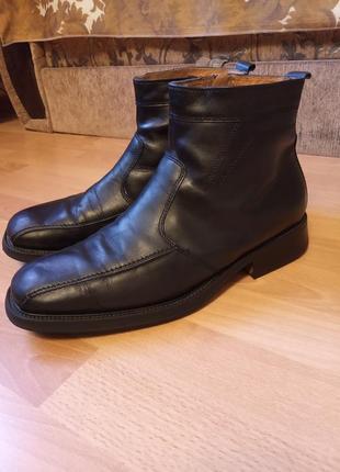 Германия,зимние!шикарные,кожаные ботинки,сапоги,сапожки,полуботинки,полусапоги