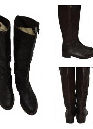 Geox сапоги женские демисезонные кожаные 3229