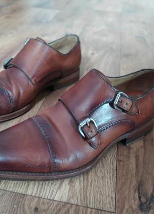 Мужские туфли дабл монки