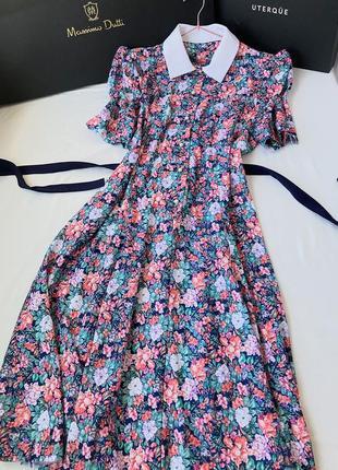Винтажное платье в стиле miu miu