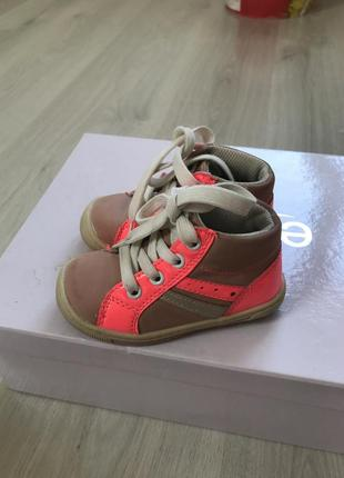 Ботиночки яркие для девочки хайтопы кроссовки яркие туфли