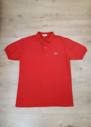 Поло футболка lacoste оригинал размер s-m